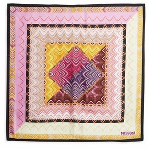 Missoni silk printed scarf